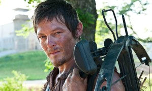 Daryl Dixon (Norman Reedus) with his trusty crossbow.